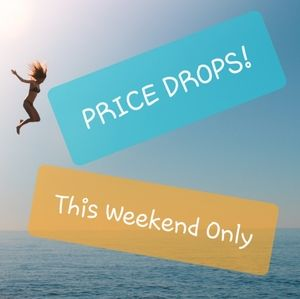 Weekend SALE - check out price drops in my closet